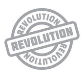 Revolution rubber stamp. Grunge design with dust scratches. Effects can be easily removed for a clean, crisp look. Color is easily changed Stock Photos