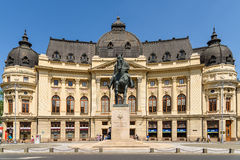 Revolution Square In Bucharest. BUCHAREST, ROMANIA - MAY 28, 2016: Revolution Square Is One Of The Most Important Squares In Central Bucharest Where People Died royalty free stock photography