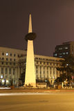 Revolution Square Monument: Bucharest Night Stock Photography