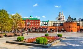 Revolution Square in Moscow, Russia. Revolution Square in Moscow, the capital of Russia royalty free stock image