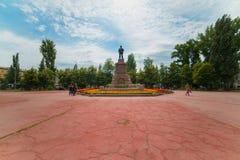 Revolution Square in Samara. Stock Photography