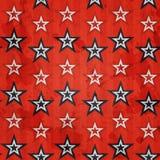 Revolution stars seamless pattern with grunge effect. (eps 10 stock illustration