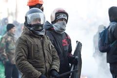 Revolution in Ukraine. Stockbilder