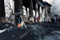 Revolution in Ukraine. Lizenzfreies Stockfoto
