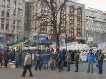 Revolution in Ukraine. EuroMaidan. Royalty Free Stock Images