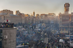 Revolution in Ukraine. EuroMaidan. Royalty Free Stock Photo