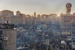 Revolution in Ukraine. EuroMaidan. Royalty Free Stock Photo