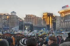 Revolution in Ukraine. EuroMaidan. Royalty Free Stock Photography