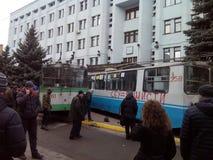 Revolution in Ukraine. Khmelnytsky Stock Images