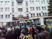 Revolution in Ukraine. Khmelnytsky Stock Photos