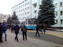 Revolution in Ukraine. Khmelnytsky Royalty Free Stock Photography