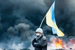 Revolution in Ukraine. stock photos