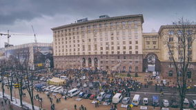 Revolution in Ukraine. Time lapse. Video about revolution in Ukraine. Time lapse stock video