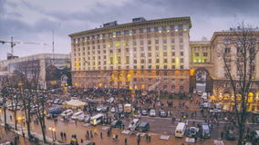 Revolution in Ukraine. Time lapse. Video about revolution in Ukraine. Time lapse stock footage