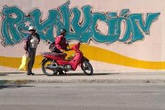 Revolution wall Stock Photo