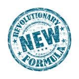 Revolutionaire nieuwe formule rubberzegel Stock Afbeeldingen