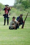 Revolutionaire oorlogsslag Royalty-vrije Stock Foto