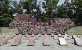 Revolutionary martyrs' monument in chengdu,china Stock Photography
