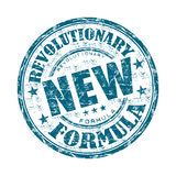 Revolutionary new formula rubber stamp Stock Images