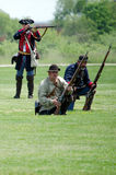 Revolutionary war battle Royalty Free Stock Photo