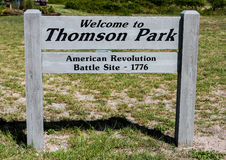 Revolutionary War Battle Site Royalty Free Stock Images