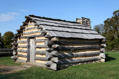 Revolutionary War Cabin – Valley Forge Stock Images