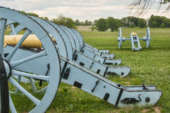 Revolutionary War Cannons Stock Images