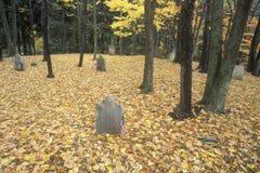 Revolutionary War Cemetery Stock Photo