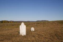 Revolutionary War Era Cemetery Royalty Free Stock Photo