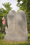 Revolutionary War graves Stock Photography