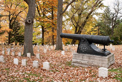Revolutionary War Memorial Stock Image