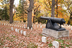 Revolutionary War Memorial Stock Photos