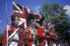 Revolutionary War Reenactment, Royalty Free Stock Photo