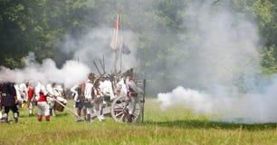Revolutionary War Reenactment Royalty Free Stock Image