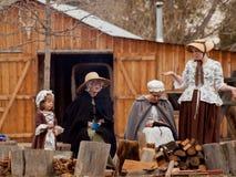 Revolutionary War Reenactment Stock Image