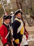 Revolutionary War Reenactment Royalty Free Stock Photo