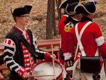 Revolutionary War Reenactment Stock Photography