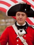 Revolutionary War Reenactment Royalty Free Stock Photos