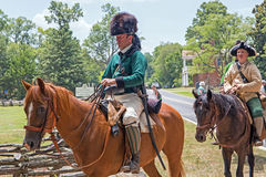 Revolutionary War Reenactment Royalty Free Stock Image