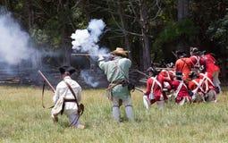 Revolutionary War Reenactment Stock Photos