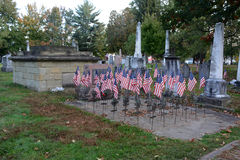 Revolutionary war veterans memorial Stock Image