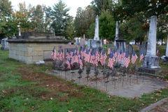 Revolutionary war veterans memorial Stock Image