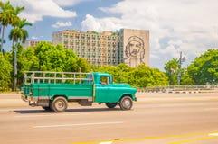 Revolutionfyrkanten eller Plazaen de la Revolucion in arkivfoton