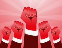 Revolutions-Hand Lizenzfreie Stockfotografie