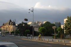 Revolutions-Quadrat in der Mitte von Bukarest Lizenzfreie Stockfotografie