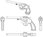 Revolver Stock Image