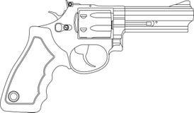 Revolver Royalty-vrije Stock Fotografie