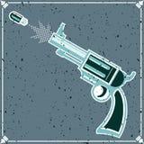 Revolver Royaltyfri Foto