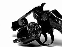 Revolver with ammunition Royalty Free Stock Photography