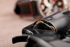 Revolver closeup Stock Photography